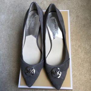 BNIB Michael Kors Gray Heels